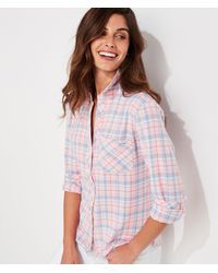 Vineyard Vines Plaid Chilmark Relaxed Button-down Shirt - Multicolor