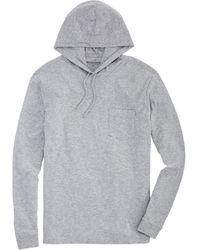 Vineyard Vines Hoodie Pocket T-shirt - Gray