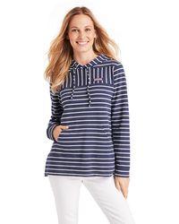 Vineyard Vines Relaxed Hoodie Shep Shirt Pullover - Blue