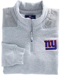 Vineyard Vines New York Giants - Nfl Shep Shirt Pullover - Blue
