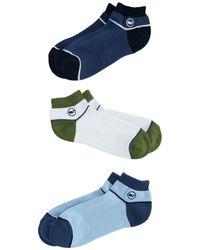 Vineyard Vines 3-pack Athletic Socks - Blue