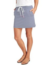Vineyard Vines - Striped Sankaty Pull On Skirt - Lyst
