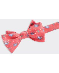 Vineyard Vines Crab Bow Tie - Pink