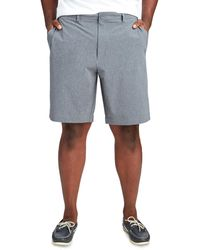 Vineyard Vines Big & Tall 10 Inch Performance Shorts - Gray