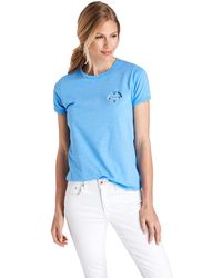 8984b9e5 Nasty Gal · Vineyard Vines - Leave It All Behind Compass Island Graphic Tee  - Lyst