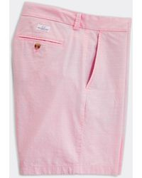 Vineyard Vines 9 Inch Chambray Shorts - Pink