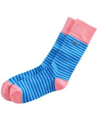 Vineyard Vines - Fine Stripe Socks - Lyst