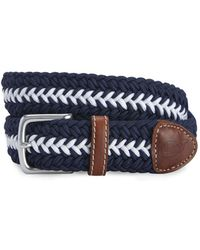 Vineyard Vines - Striped Bungee Cord Belt - Lyst