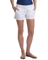 Vineyard Vines 3 1/2 Inch Every Day Shorts - White