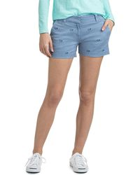 Vineyard Vines - 3 1/2 Inch Whale Outline Embroidered Every Day Shorts - Lyst
