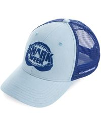 Vineyard Vines - Shark Week Logo Trucker Hat - Lyst