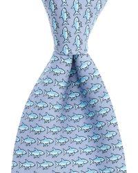 Vineyard Vines Bonefish Neck Tie - Blue