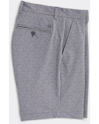 Vineyard Vines 8 Inch Printed Performance Shorts - Gray