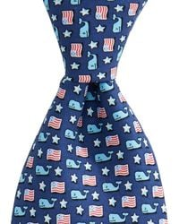 Vineyard Vines - Whale & Flag Tie - Lyst