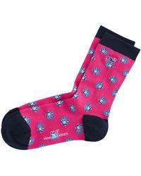 Vineyard Vines Shells Icon Socks - Pink