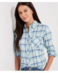 Vineyard Vines Plaid Chilmark Relaxed Button-down Shirt - Blue