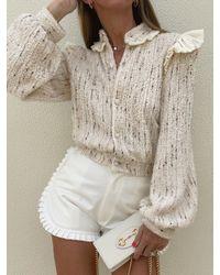 Vita Grace Chloe Cosy Knitted Cardigan Jacket - Multicolour