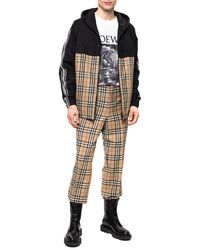 Burberry Checked Pants Multicolour