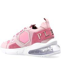 Philipp Plein 'hexagon' Sneakers - Pink