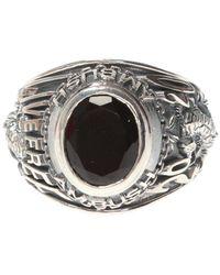 Ambush Logo Ring Silver - Metallic