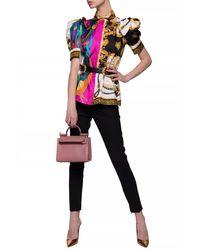 Versace Pleat-front Pants Black
