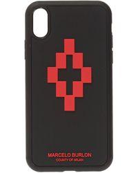 Marcelo Burlon Iphone Xr Case - Black