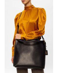 Saint Laurent 'hobo' Shoulder Bag - Black