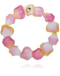 Lanvin Brass Necklace - Pink
