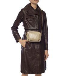 Burberry Monogram Leather Camera Bag - Multicolour