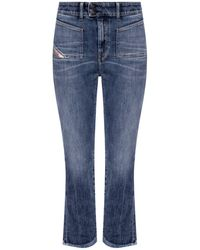 DIESEL 'd-earlie' High-waisted Jeans Blue