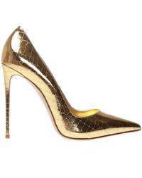 Le Silla 'eva' Stiletto Court Shoes - Metallic
