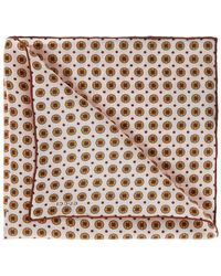 Gucci - Printed Pocket Square - Lyst