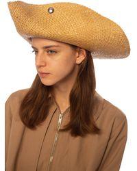 Lanvin Straw Hat - Natural