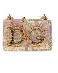 Dolce & Gabbana 'dg Girls' Shoulder Bag Pink