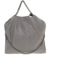 Stella McCartney - Falabella Three Chains Shaggy Deer Bag - Lyst