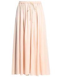 Forte Forte Ruched Skirt - Natural