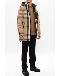 Burberry Reversible Down Jacket Beige - Natural