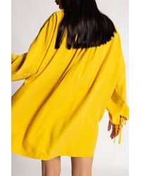 DIESEL Dress With Logo - Yellow