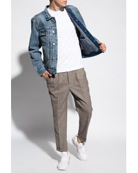 AllSaints 'delta' Stonewashed Denim Jacket - Blue