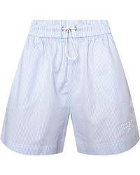 Iceberg Shorts With Logo - Blue