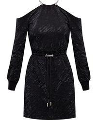 DIESEL Long-sleeved Dress - Black