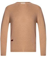 Agnona Cashmere Sweater - Natural