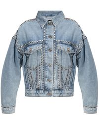 AllSaints 'bella' Denim Jacket - Blue