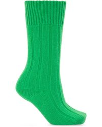Bottega Veneta Knitted Socks - Green