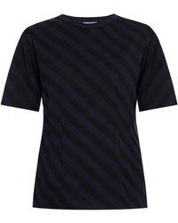 Dries Van Noten - Striped T-shirt - Lyst