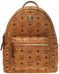 MCM 'stark' Patterned Backpack - Brown