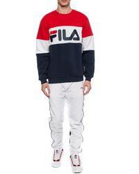 Fila - Logo-printed Sweatshirt Multicolour - Lyst
