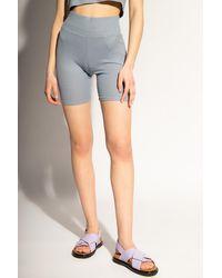 Rag & Bone Ribbed Shorts - Blue