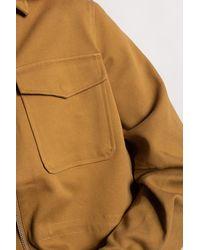 Samsøe & Samsøe Jacket With Pockets - Brown