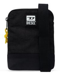 DIESEL Shoulder Bag With Logo - Black